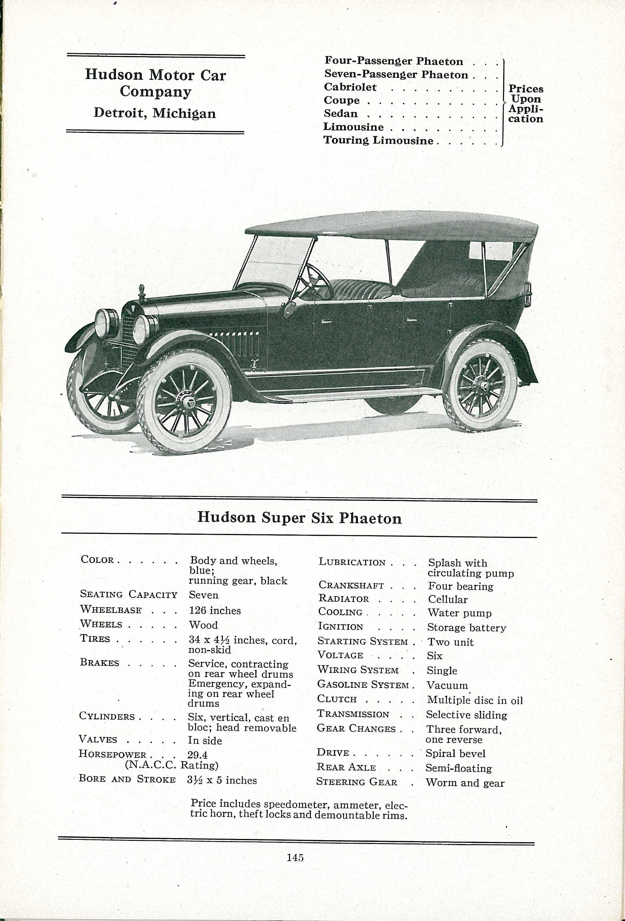 Hand Book of Automobiles, 1904-1929 AACA Library and Research Center