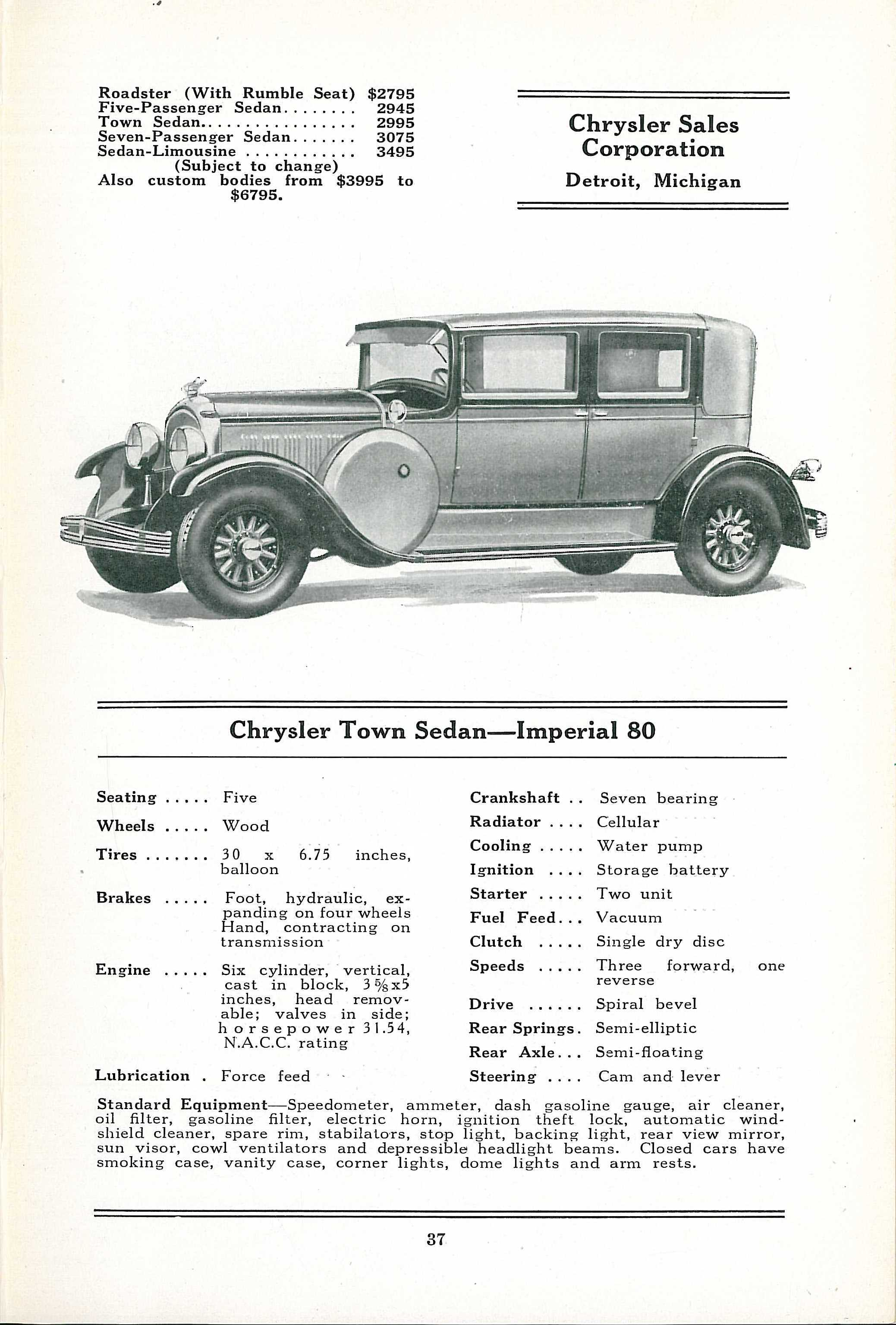1928 Chrysler