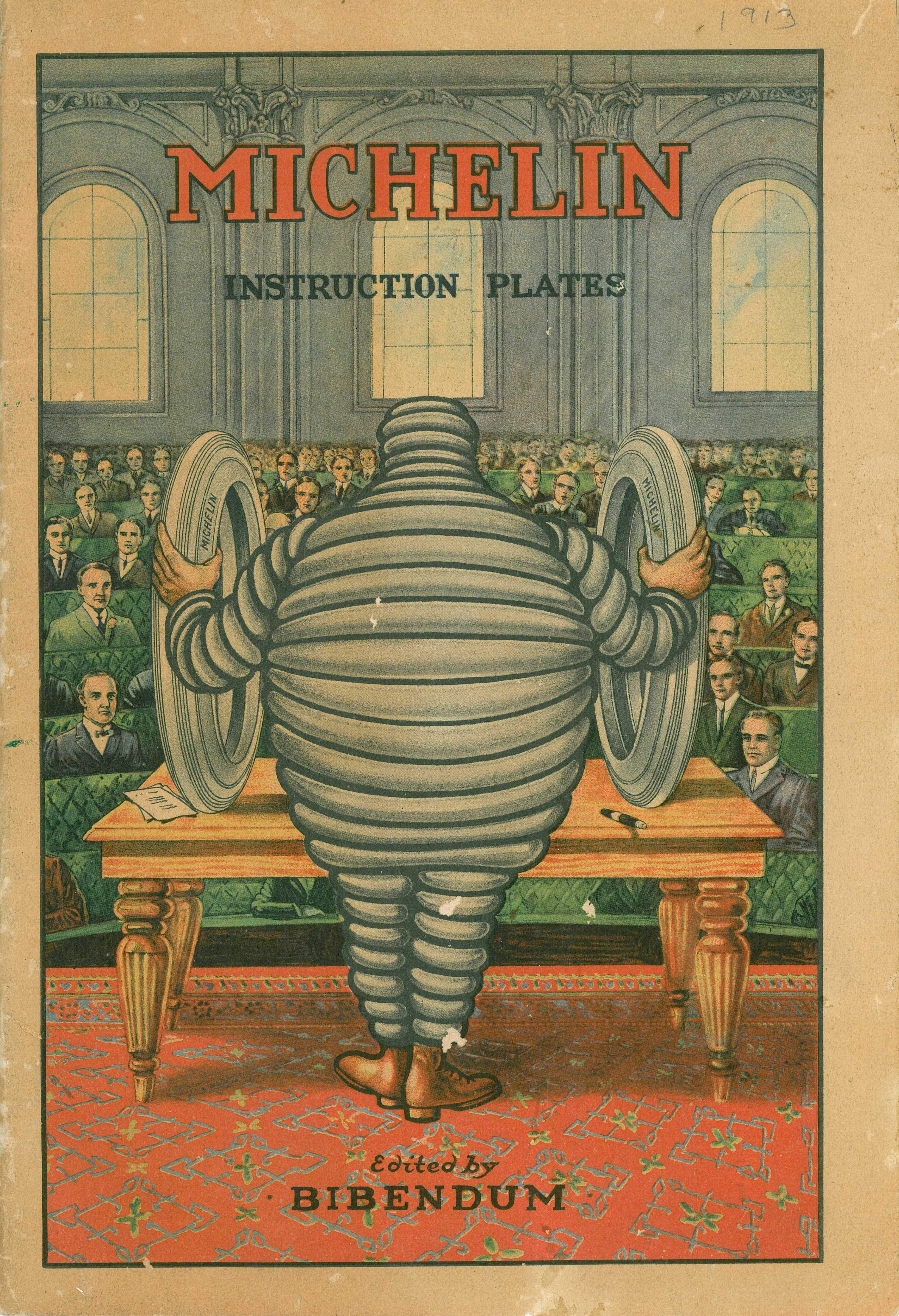 Michelin Instruction Plates (1913)