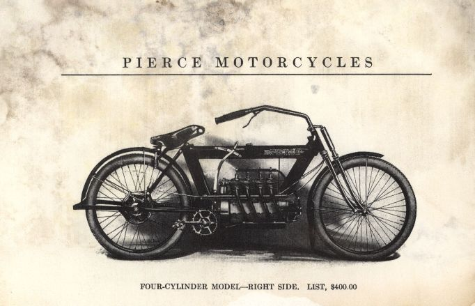 1912 Pierce Motorcycle