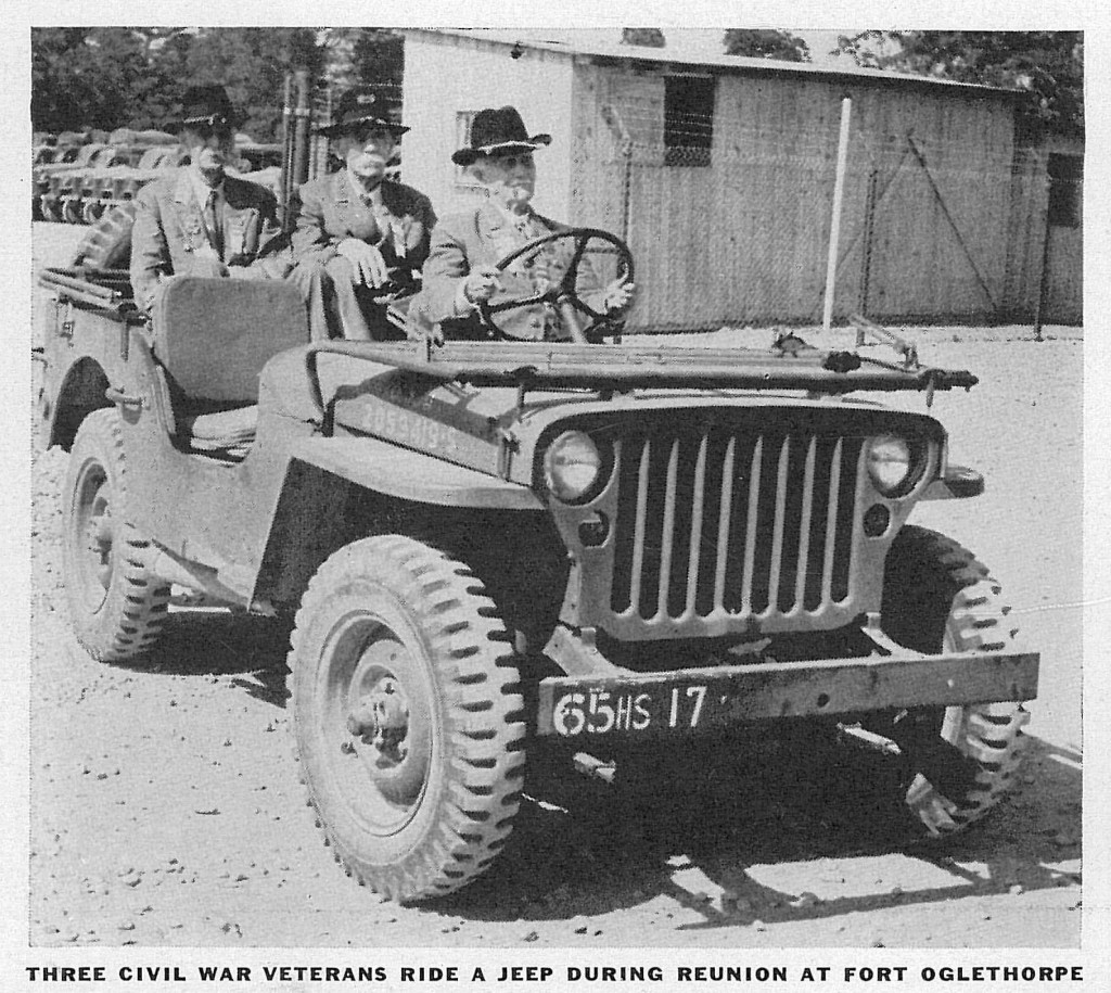 Jeep Civil War Veterans