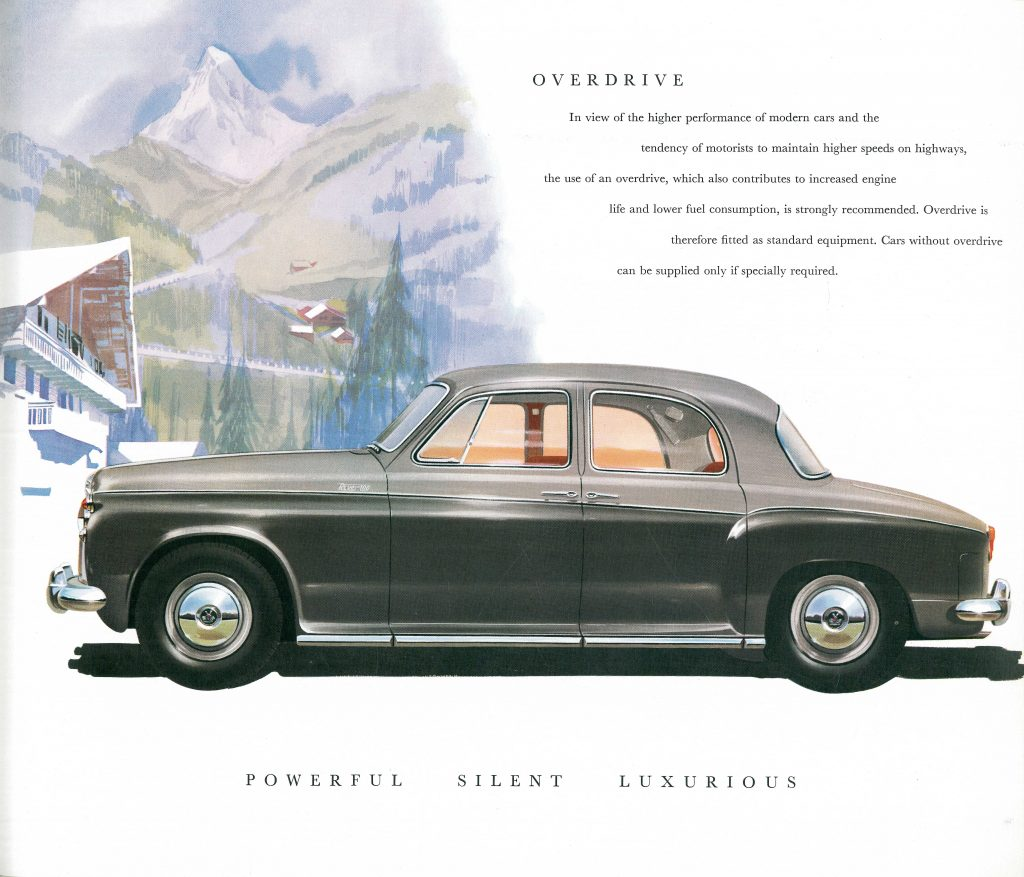 1961 Rover 3 (Catalog Interior)