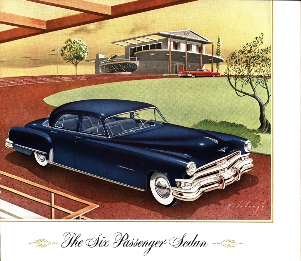 Chrysler Imperial Catalog 1951