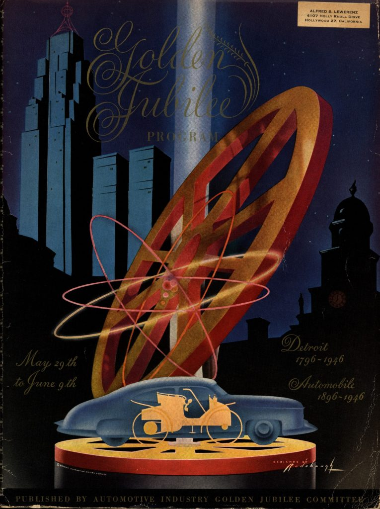 Golden Jubilee Program Cover 1946