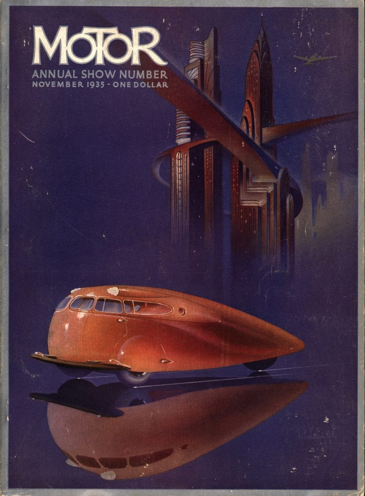 MoToR Annual Cover 1935