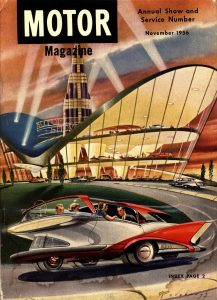 MoToR Annual Cover 1956