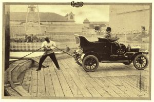 Cartercar vs. Auto Ajax 1909