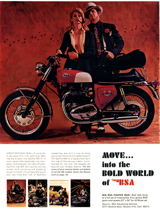 Motorcycles BSA 1968_0001