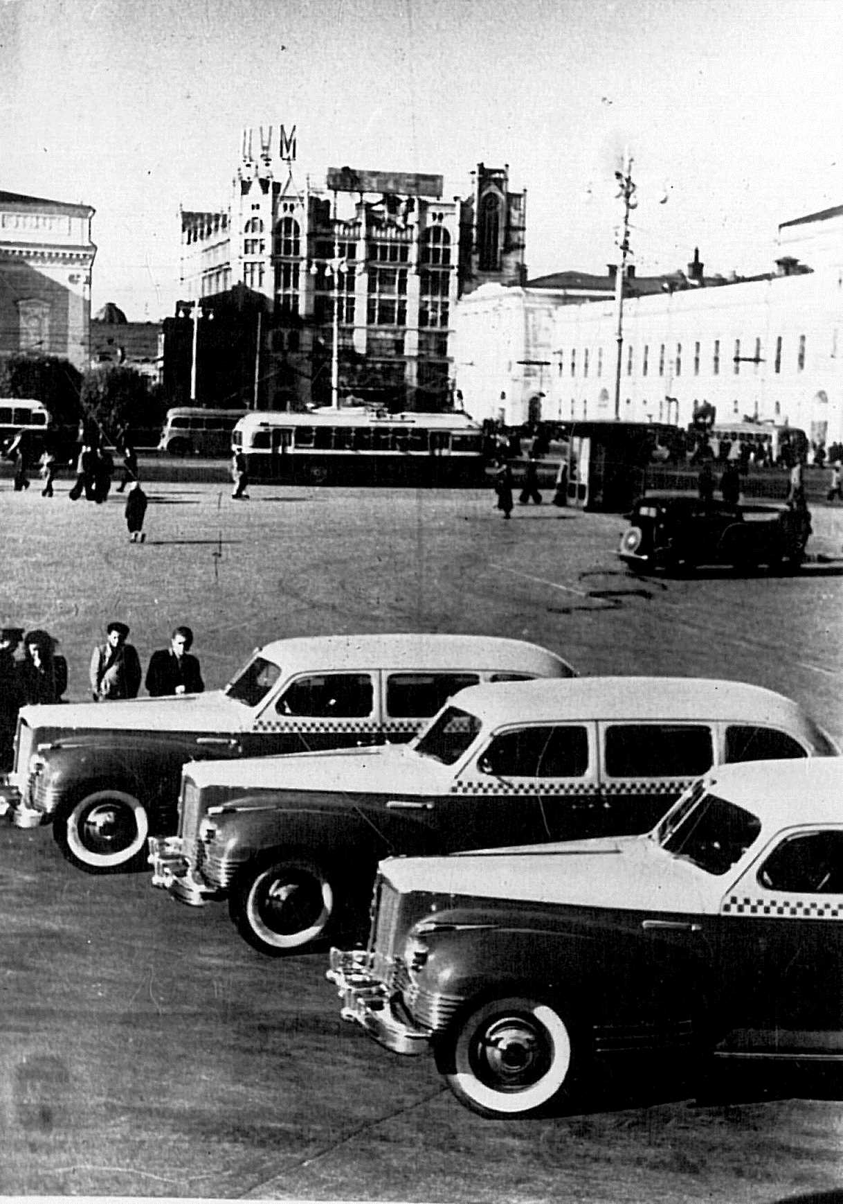 ZIS-110 taxicabs (1947)
