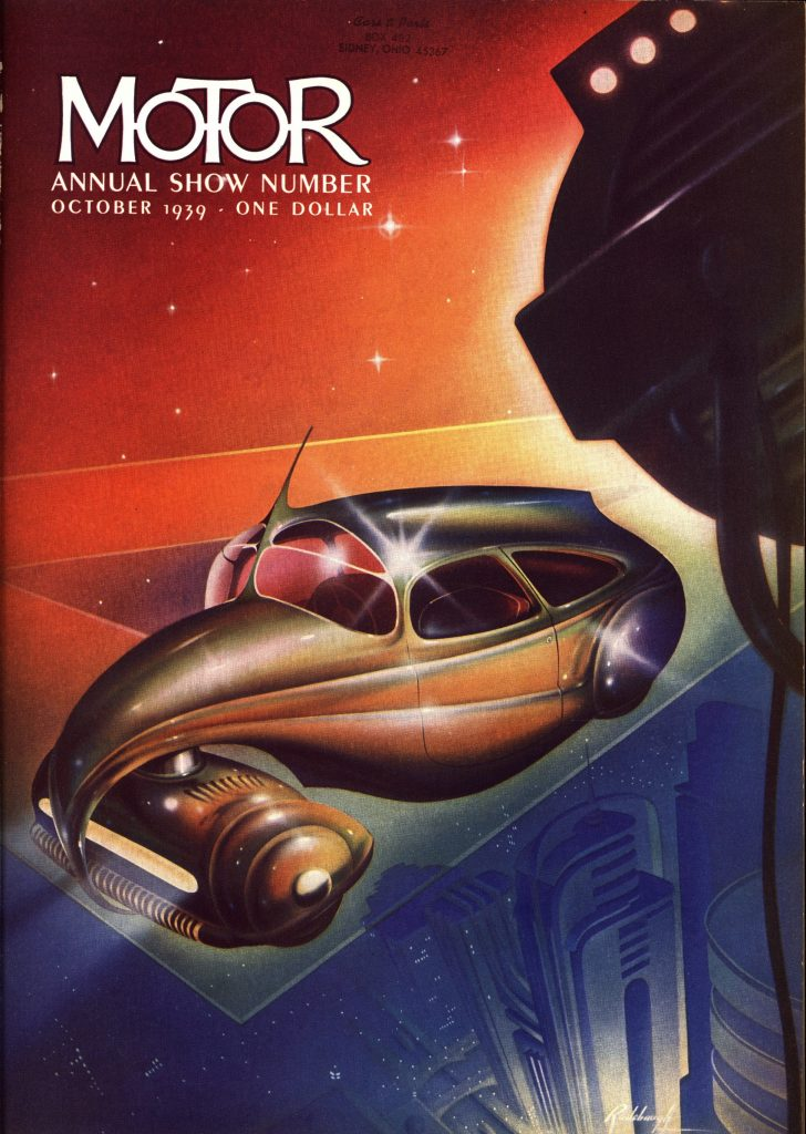MoToR Annual Cover 1939